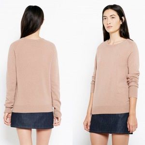 Equipment Camel Colored Cashmere Sweater
